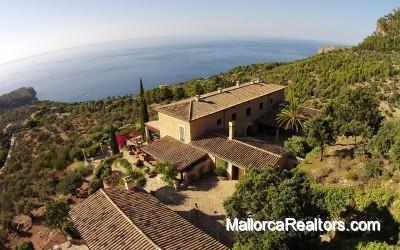 impressive villa in Deia Mallorca