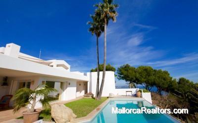 Mediterrane Villa mit Meerblick in Osten Mallorca