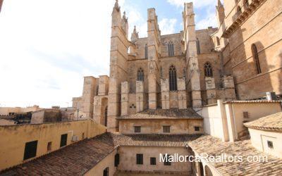 Wohnung zum renovieren an der Palma Kathedrale